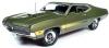 ■【アメリカンマッスル】 1/18 1970 フォード トリノ GT (Class of 1970)ミディアムアイビーポリーグリーン [AMM1211]