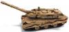 【アメリカンマッスル】 1/40 レオパルト 2 戦車(デザートカモフラージュ) ※ブラウン系 [AWML004B]