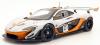 ■【オールモストリアル】 1/18 マクラーレン P1 GTR ペブルビーチ カリフォルニア デザイン コンセプト 2015         シルバー/ブラック [AL840101]