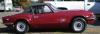 【サンスター】1/18 トライアンフ スピットファイア  MK IV 1970  クローズドコンバーチブル Damson レッド [1053]