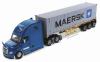【ダイキャストマスター】 1/50 フレイトライナー New カスカディア ブルー 40' Dry good Sea Container
