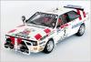 【トロフュー】 1/43 アウディ クアトロ  1986年Bandama Rally 6位   #2 Wilfried Wiedner / Franz Zehetner [RRci01]