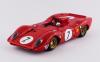 【ベスト】 1/43 フェラーリ 312P スパイダー ニュルブルクリンク1000km 1969 #7 Rodriguez/Amon [BEST9672]
