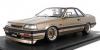 <img class='new_mark_img1' src='https://img.shop-pro.jp/img/new/icons15.gif' style='border:none;display:inline;margin:0px;padding:0px;width:auto;' />(予約)【イグニッションモデル】 1/18 日産 スカイライン GTS AUTECH Ver (R31改) Brown Metallic    ★生産予定数:120pcs [IG2415]