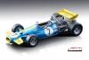 <img class='new_mark_img1' src='https://img.shop-pro.jp/img/new/icons15.gif' style='border:none;display:inline;margin:0px;padding:0px;width:auto;' />(予約)【テクノモデル】  1/18 ブラバム BT33 スペインGP 1970 #7  Jack Brabham [TM18-162D]