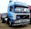 ◆【イクソ】 1/43 ボルボ F12 1981 ホワイト/ブルー [TR090]