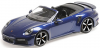■【ミニチャンプス】 1/18 ポルシェ 911 (992) ターボ S カブリオレ 2020 ブルーメタリック [155069081]