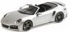 ■【ミニチャンプス】 1/18 ポルシェ 911 (992) ターボ S カブリオレ 2020 シルバー [155069082]