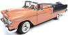 ■【アメリカンマッスル】 1/18 1955 シェビー ベル エアー コンバーチブル  コーラル/シャドーグレー [AMM1221]