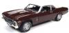 ■【アメリカンマッスル】 1/18 1970 シェビー ノヴァ SS 396 ブラックチェリー [AMM1230]
