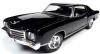 ■【アメリカンマッスル】 1/18 1970 シェビー モンテ カルロ SS 454 (50周年 アニバーサリー)  タキシードブラック [AMM1237]
