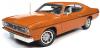 ■【アメリカンマッスル】 1/18 1970 プリムス ダスター 2-ドア ビタミンCオレンジ [AMM1239]