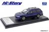 【ハイストーリー】  1/43 スバル レガシー TOURING WAGON GT-B Limited (1997) ロイヤルブルー・マイカ [HS305BL]