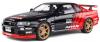 ■【ソリド】 1/18 日産 スカイライン R34 GT-R (ブラック/レッド) [S1804302]