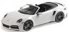 ■【ミニチャンプス】 1/18 ポルシェ 911 (992) ターボ S カブリオレ 2020 ホワイトメタリック [155069080]