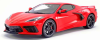 ■【GTスピリット】 1/18 シボレー コルベット スティングレイ 2020 (レッド) [GTS028US]