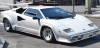 ■【GTスピリット】 1/8 ランボルギーニ カウンタック LP5000 QV (ホワイト)ケース&ベース付 [GTS80032]