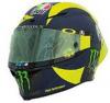 ■【ミニチャンプス】 0.125 AGV ヘルメット バレンティーノ・ロッシ モトGP 2018 [399180046]