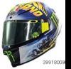 ■【ミニチャンプス】 0.125 AGV ヘルメット バレンティーノ・ロッシ モトGP ミサノ 2018 [399180096]