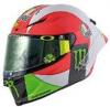 ■【ミニチャンプス】 1/8 AGV ヘルメット バレンティーノ・ロッシ モトGP ムジェロ 2018 [399180086]