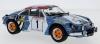 ◆【イクソ】 1/18 アルピーヌ ルノー A110  1973年ツール・ド・コルス 優勝車 #1? J.-P.Nicolas- M.Vial [18RMC062A]