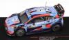 ◆【イクソ】 1/43 ヒュンダイ i20 クーペ WRC  2020年ラリー・サルデーニャ  #7 P-L. Loubet/V.Landais [RAM764LQ]