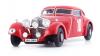 ◆【オートカルト】 1/43 メルセデス・ベンツ500K ドイチュラントファールト 1934 レッド [07019]