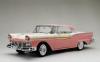 ◆【サンスター】 1/18 フォード フェアレーン 500 スカイライナー   1957  サンセットコーラル/コロニアルホワイト  [1344]