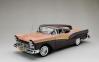 ◆【サンスター】 1/18 フォード フェアレーン 500 スカイライナー   1957  シルバーモカ/コーラルサンド [1345]