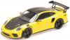 ■【ミニチャンプス】 1/18 ポルシェ 911 GT3RS (991.2) 2019 イエロー/ヴァイザッハ パッケージ/プラチナマグネシウムホイール [155068221]※開閉機構なし
