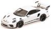 ■【ミニチャンプス】 1/18 ポルシェ 911 GT3RS (991.2) 2019 ホワイト/ブラックホイール [155068224]※開閉機構なし