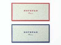 NOTEPAD Frame|活版印刷一筆箋