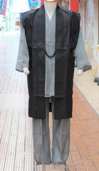 藤衣羽織(本麻)ロング丈