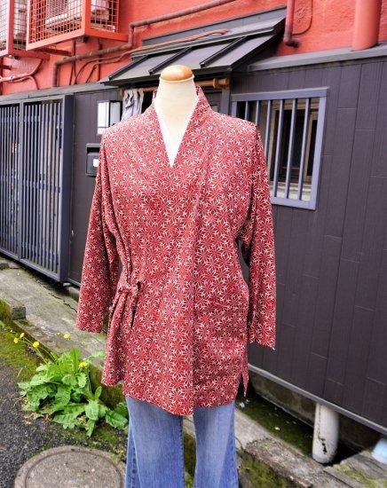 藤衣作務衣(上着のみ)B−001