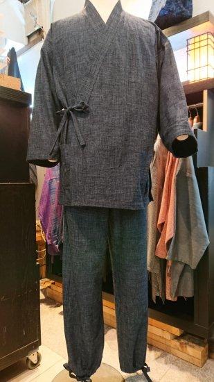 笹倉玄照堂作務衣(無地15031)