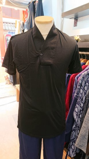 Tシャツ襦袢(黒)