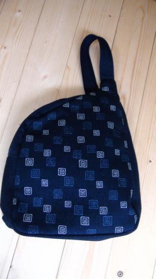 藍染めボディーショルダーバッグ(1132)くぎぬき