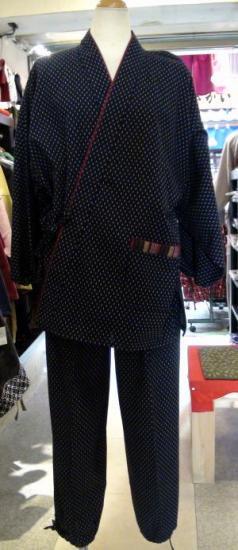 久留米作務衣(紺)